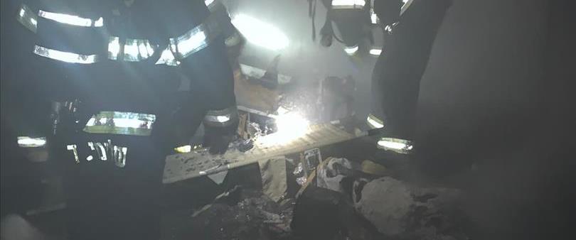 השריפה בדרום רמת הגולן