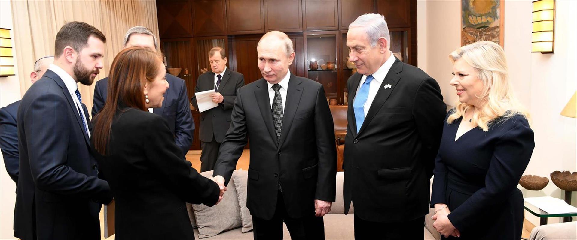 יפה יששכר והנשיא פוטין, היום