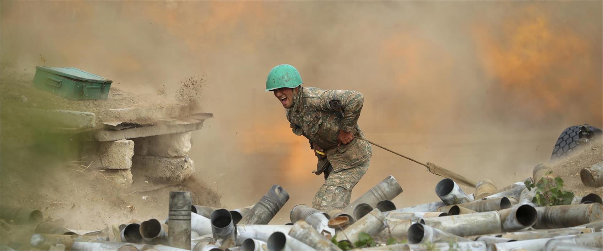 חייל ארמני בגבול