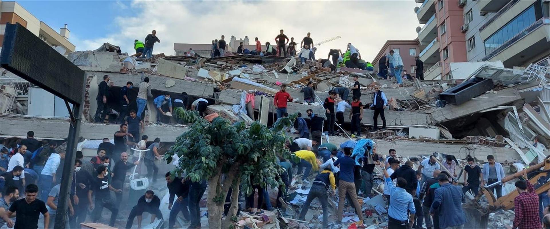 תיעוד מההריסות בטורקיה