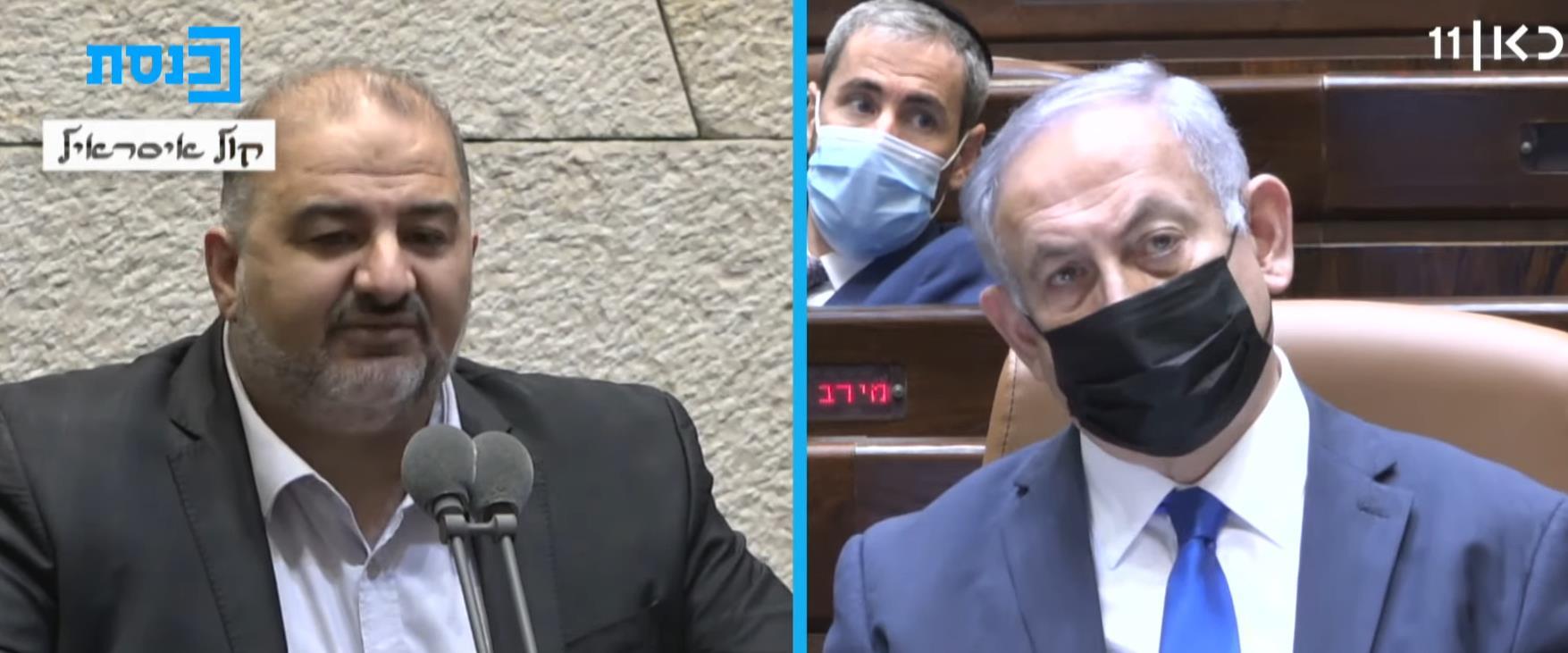 رئيس المعارضة بنيامين نتنياهو