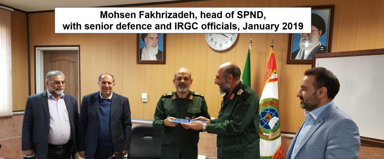 מוהסן פח'ריזאדה, מדען בכיר בתוכנית הגרעין האיראנית
