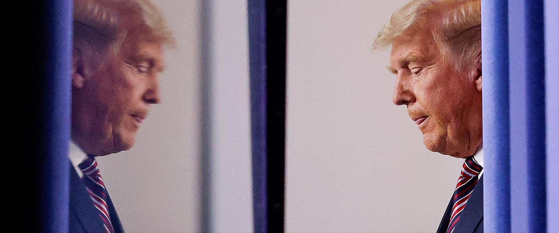 דונלד טראמפ בבית הלבן, אתמול