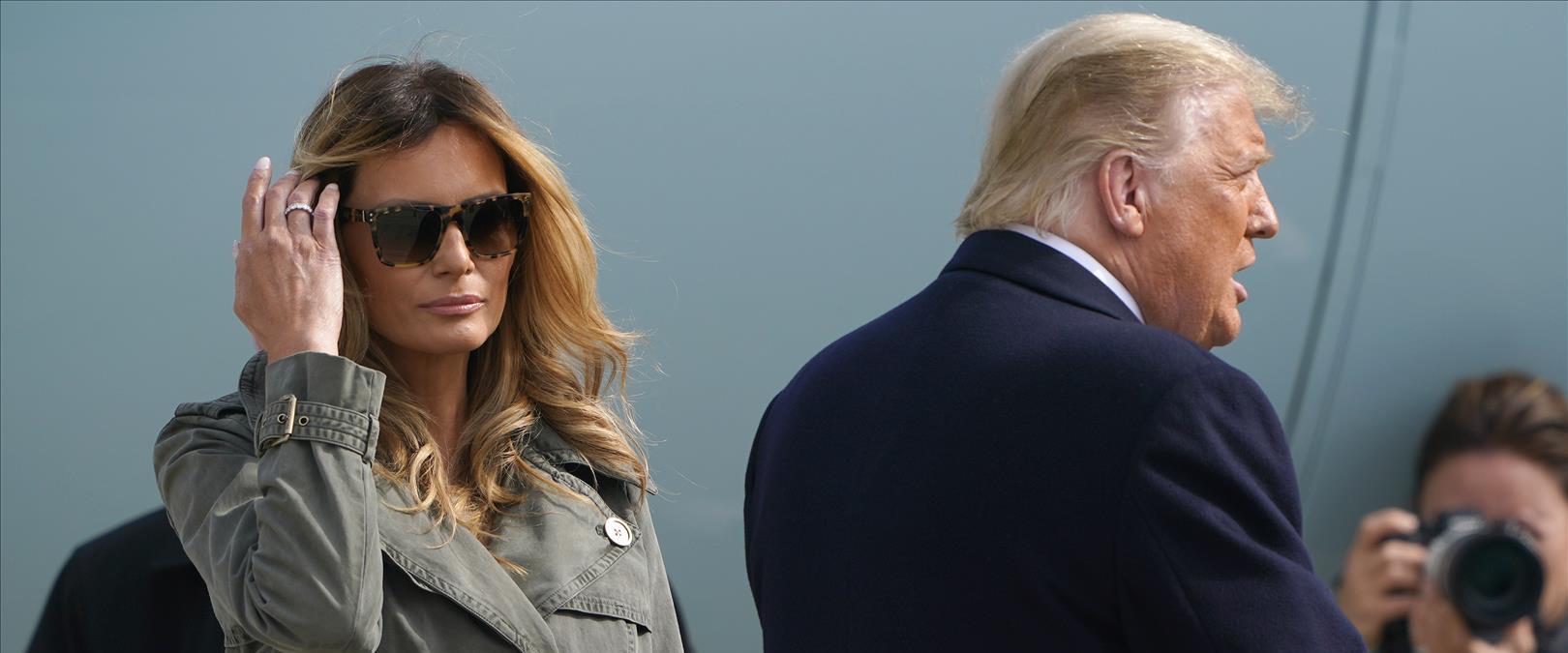 טראמפ ומלאניה