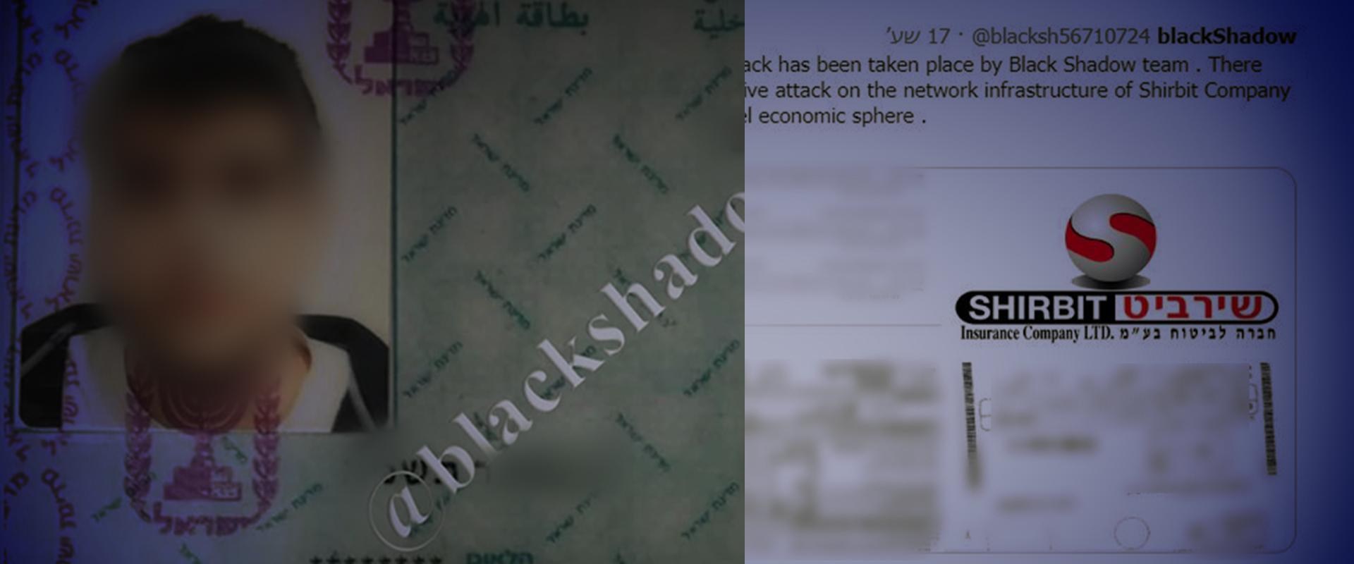 חלק מהמסמכים שפורסמו ברשת