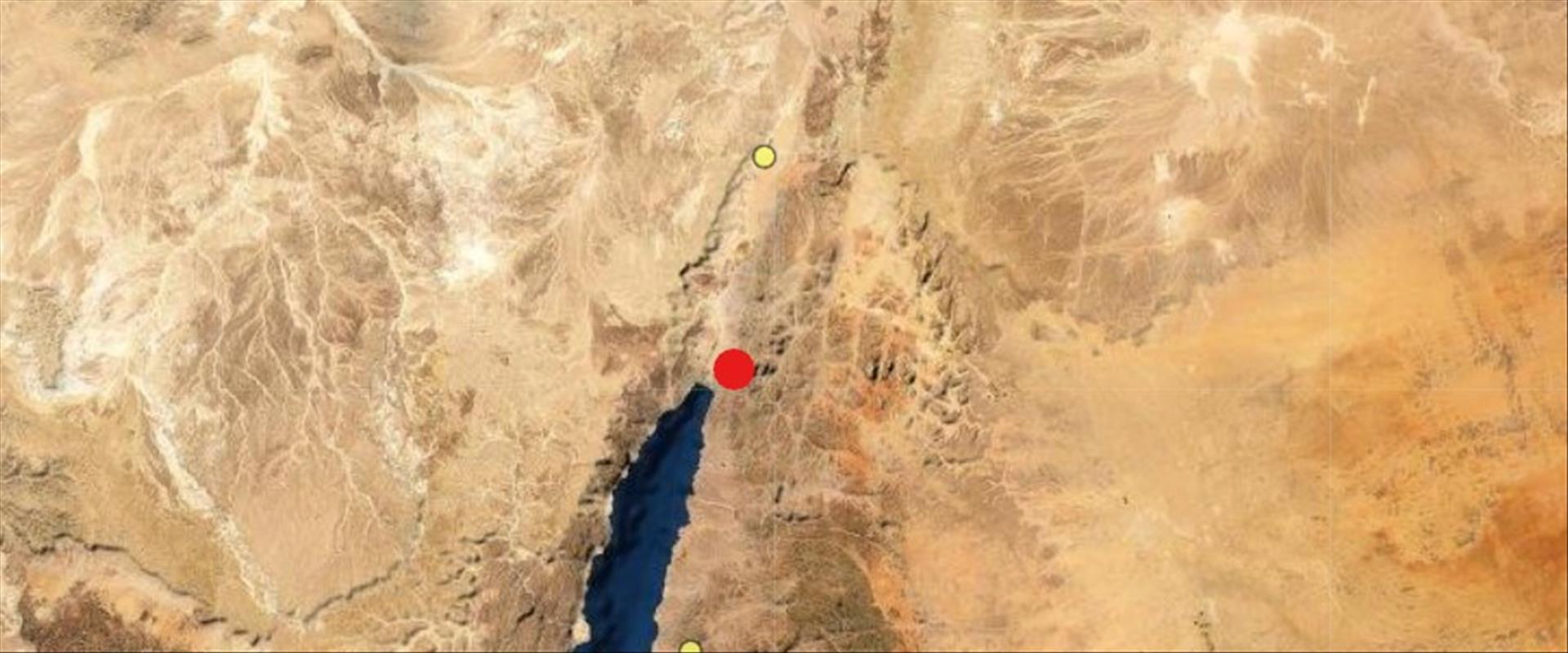 רעידת אדמה בעקבה שהורגשה באילת, 15.12.2020