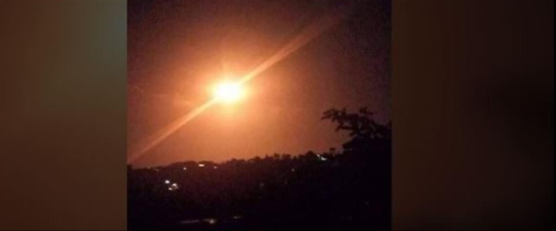ניסיונות יירוט התקיפה באזור מסיאף, הלילה