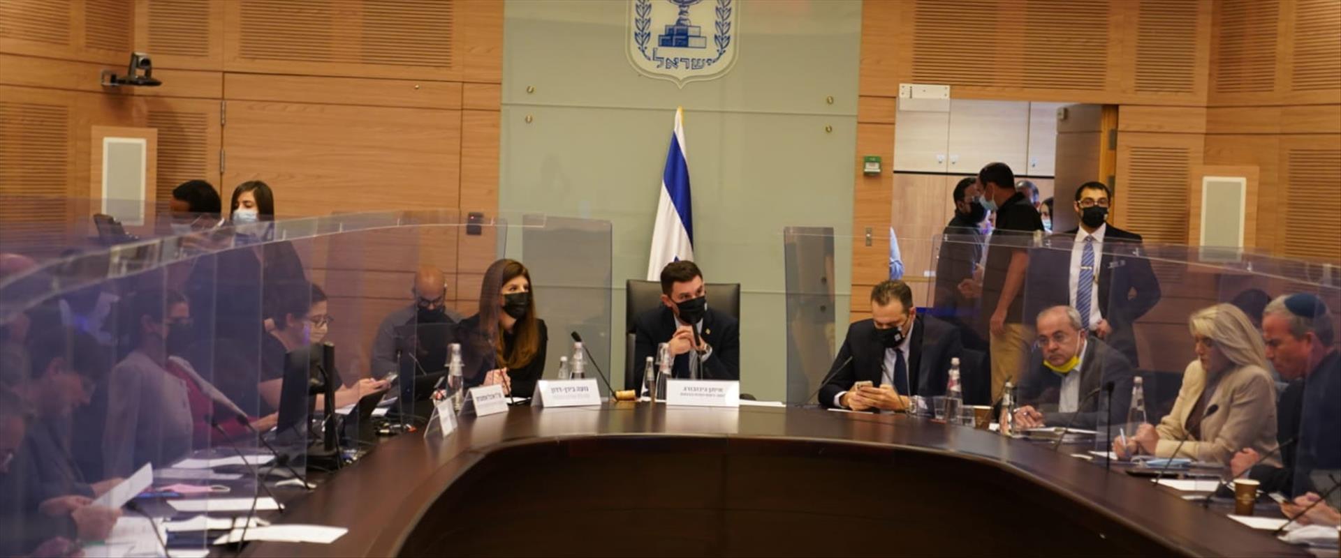 ועדת הכנסת דנה בפיזור הכנסת