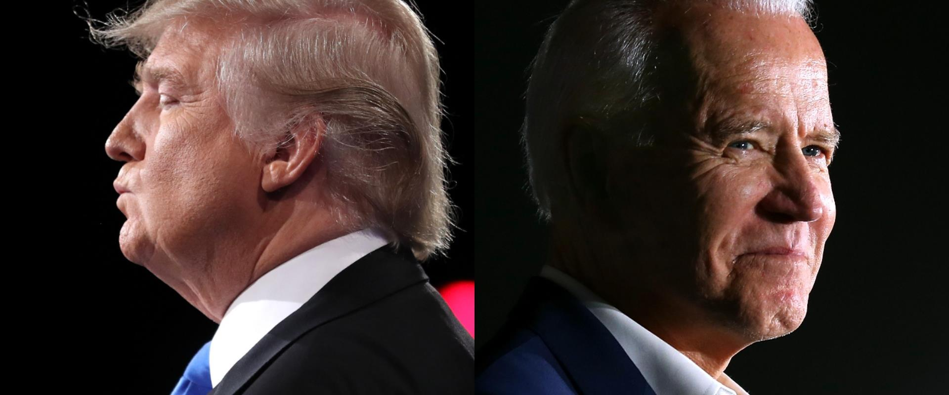 ג'ו ביידן, דונלד טראמפ, ארכיון