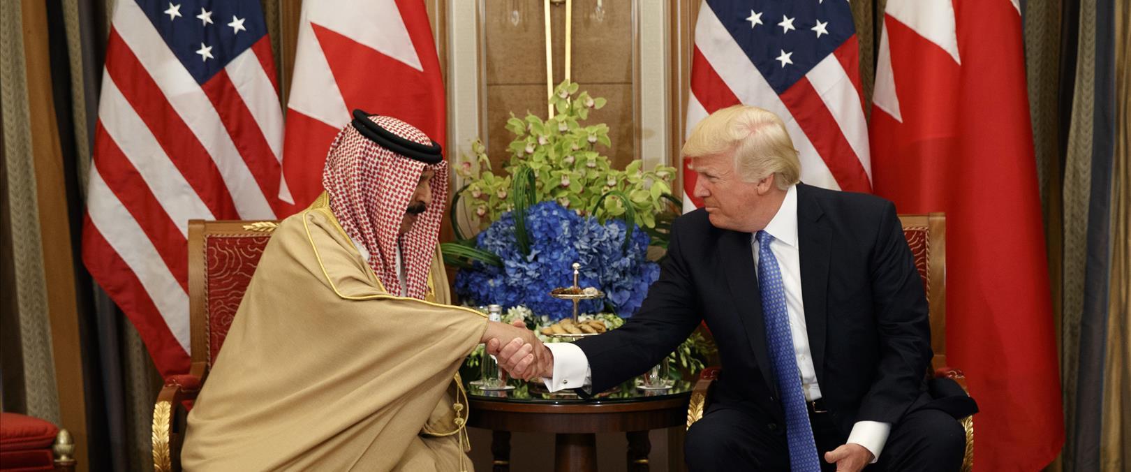 דונלד טראמפ ומלך בחריין, ארכיון