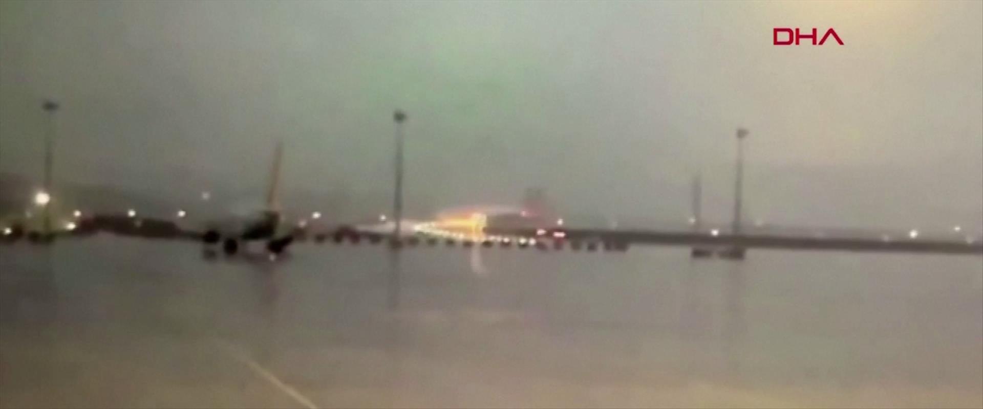 תאונת המטוס בשדה התעופה באיסטנבול