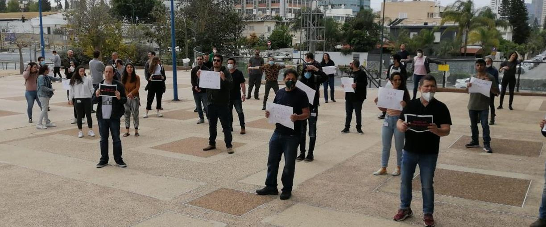 מחאת עובדי חדשות 13, היום
