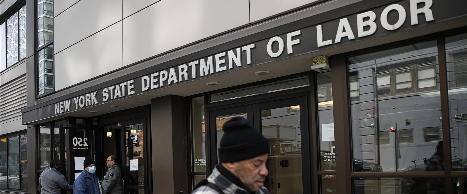 תור לדמי אבטלה בניו יורק