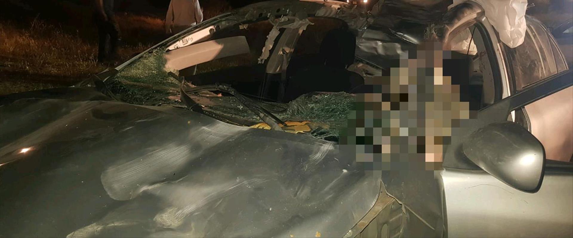 התאונה בכביש 222 בנגב