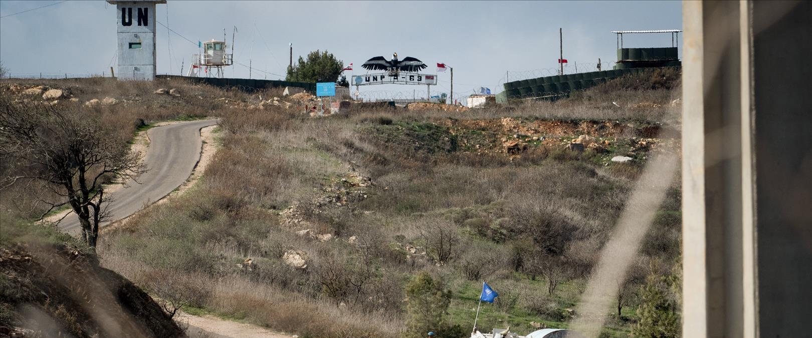 """כוח או""""ם בגבול ישראל-לבנון"""