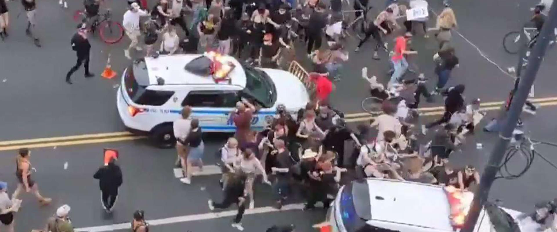 המחאות על הרג ג'ורג' פלויד מחריפות