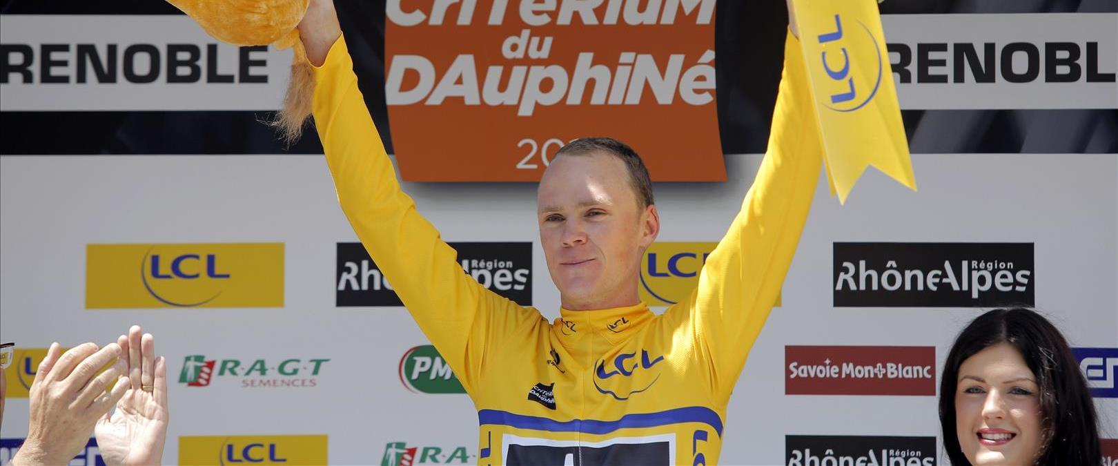 רוכב האופניים כריס פרום