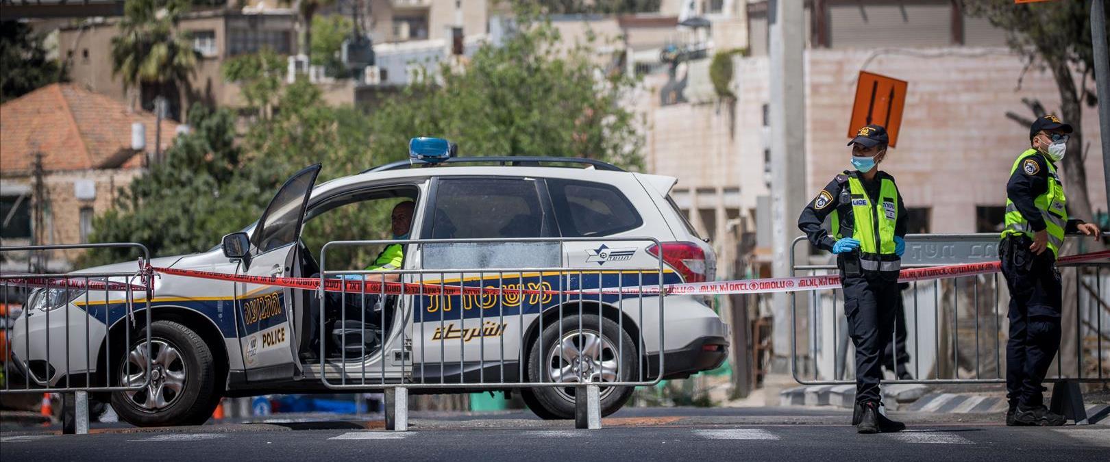 סגר בשכונת רוממה בירושלים