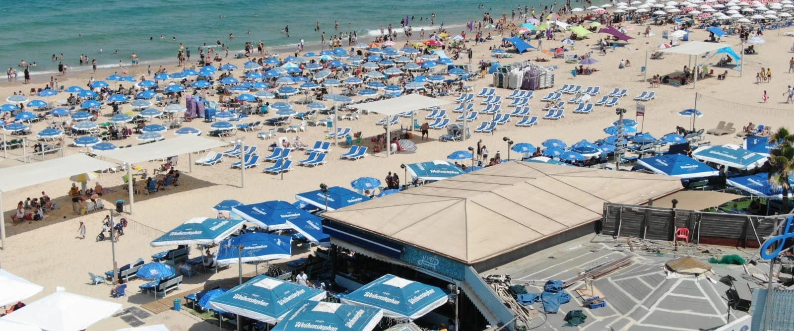 חוף בתל אביב, ארכיון