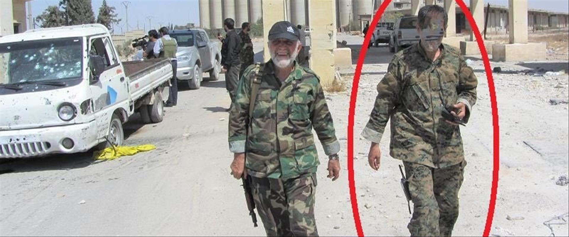 המרגל לצידו של סולימאני בסוריה