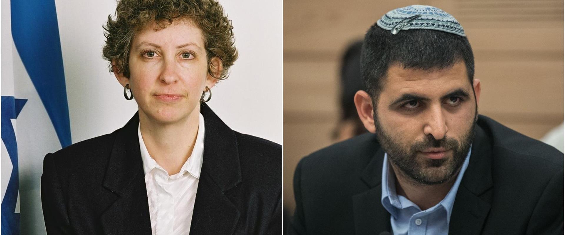השופטת וחבר הכנסת