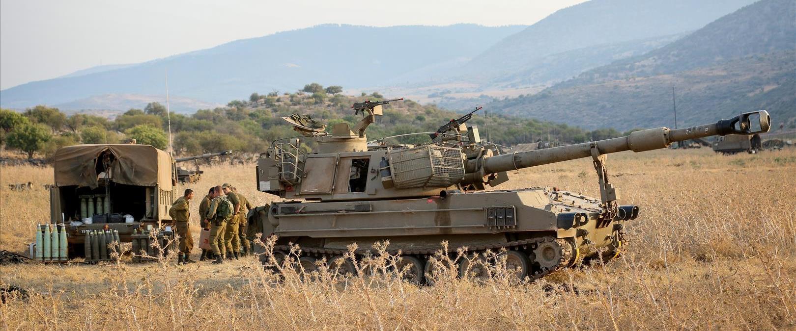 """כוחות צה""""ל בגבול לבנון בשבוע שעבר"""
