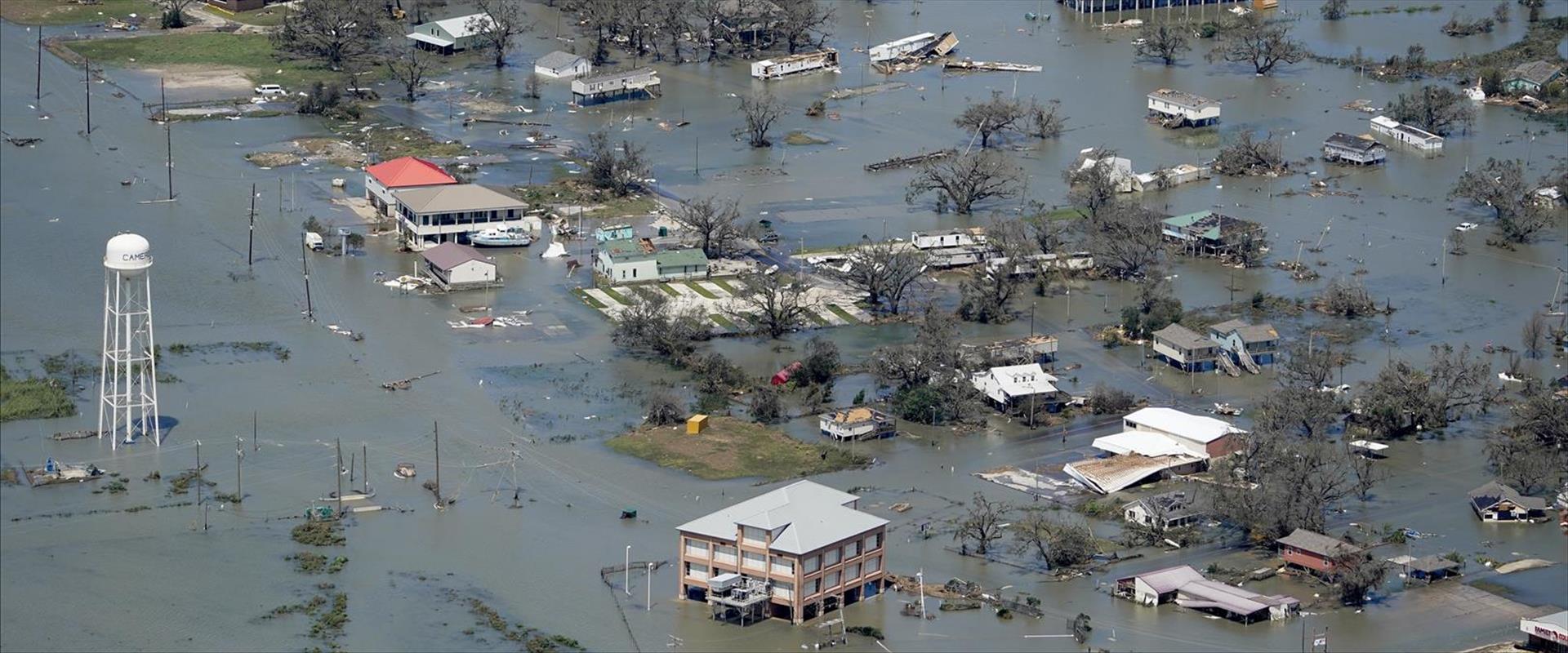הצפות בעיר לייק צ'ארלס, לואיזינה בעקבות הוריקן לור