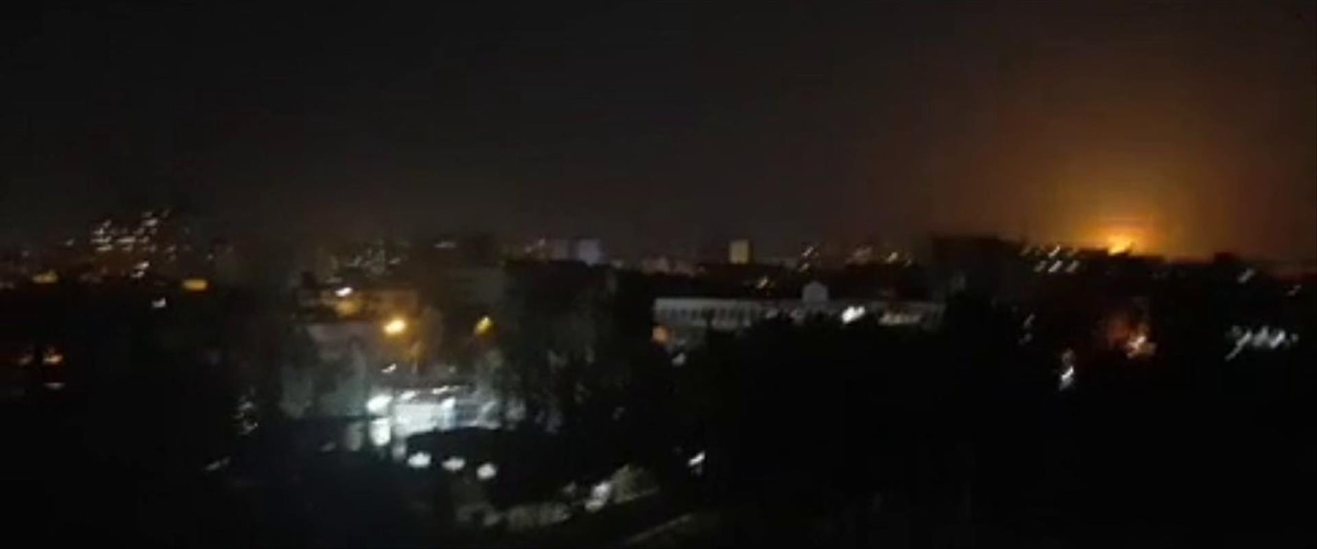 התקיפה בסוריה באוגוסט שיוחסה לישראל
