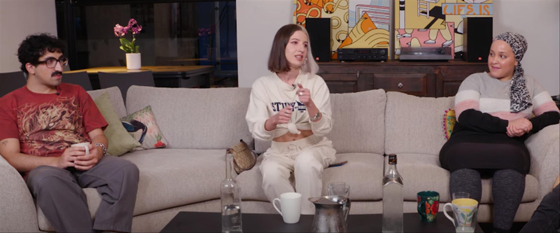 דוקותיים בסלון עם איתי אשר - עם הולי מריה, טובה ספ