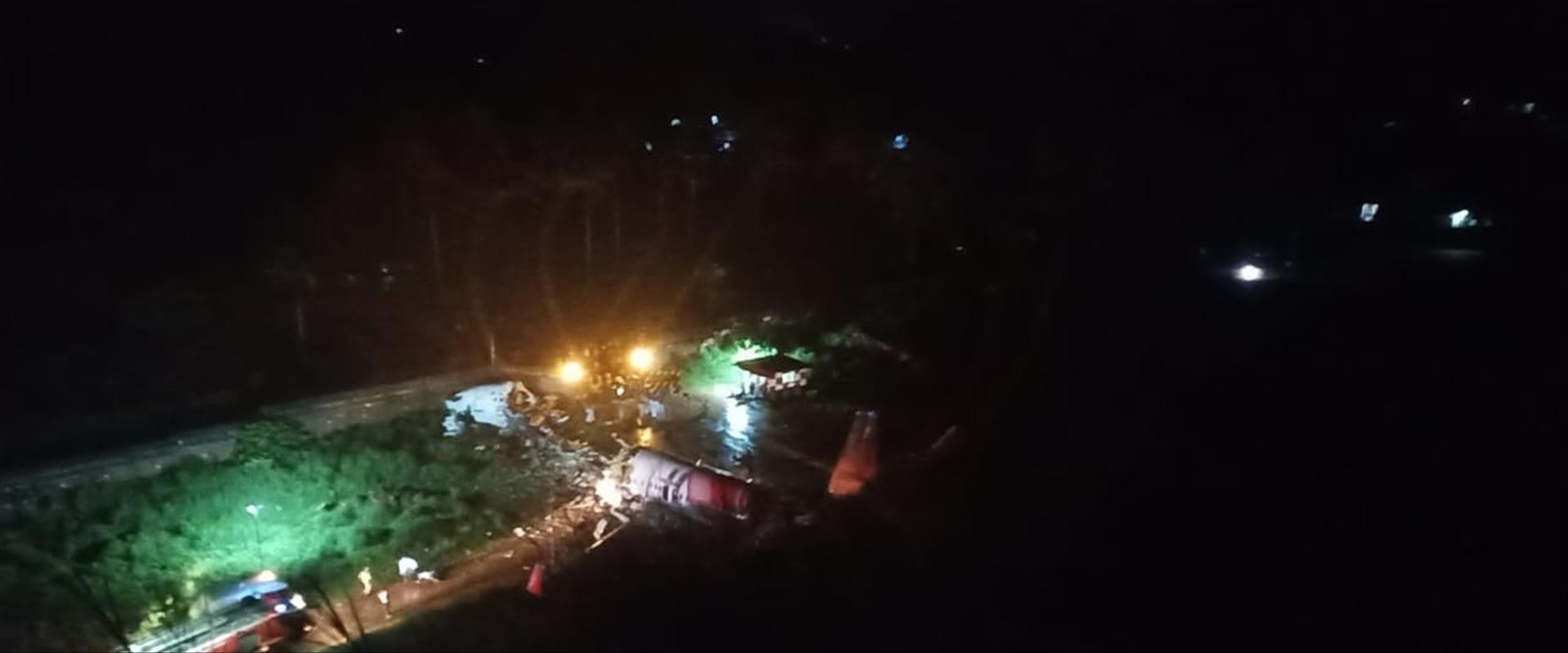 מטוס הנוסעים שהתרסק בהודו