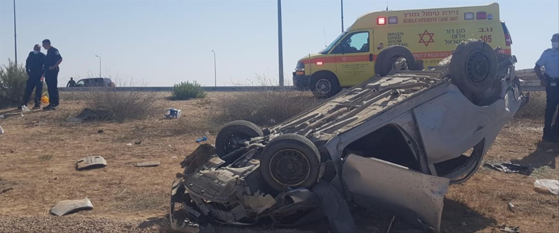 תיעוד מהתאונה