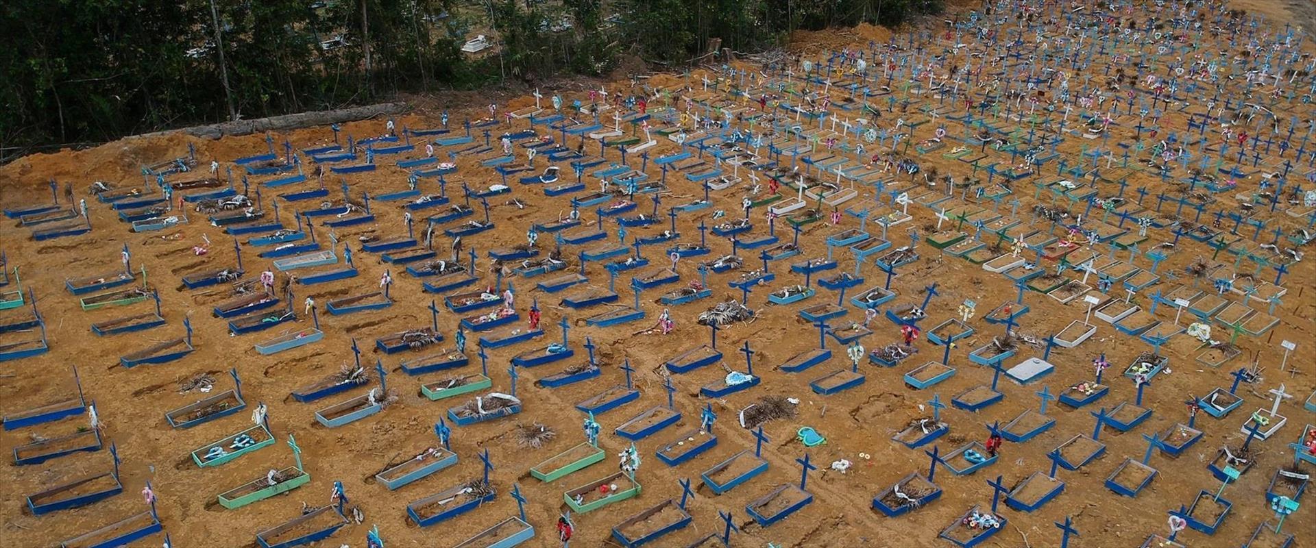 בית העלמין בברזיל לקורבנות הקורונה, ארכיון