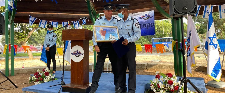 מפקד חדש למשטרת קריית מלאכי - אברהם מבורך