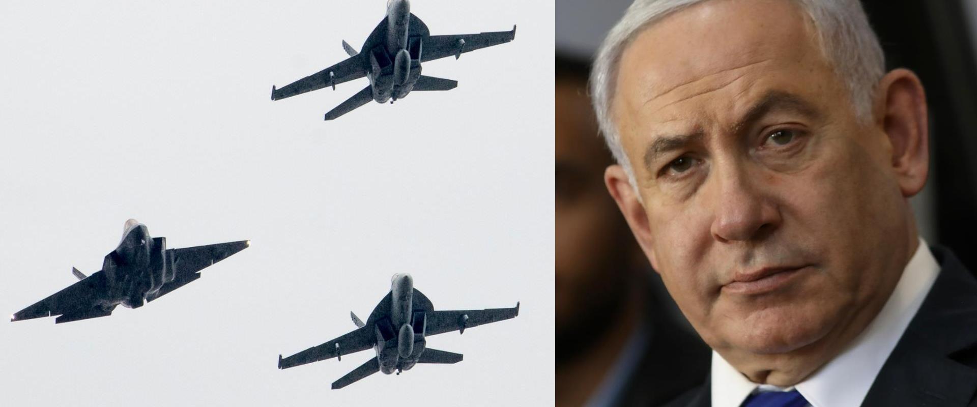 ראש הממשלה נתניהו, מטוסי F35, ארכיון