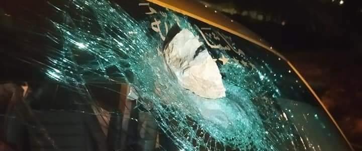 אבן שהושלכה לעבר רכב פלסטיני, ארכיון