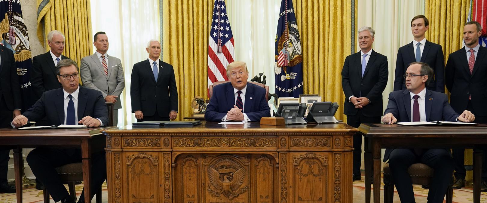 """נשיא ארה""""ב דונלד טראמפ, הערב"""