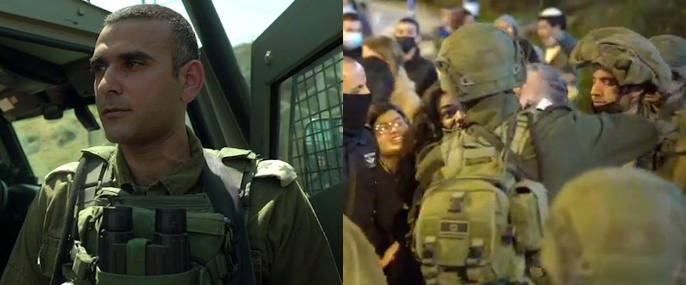 מפקד סיירת גולני, ארכיון; מעצר התוקף בהפגנה, אתמול