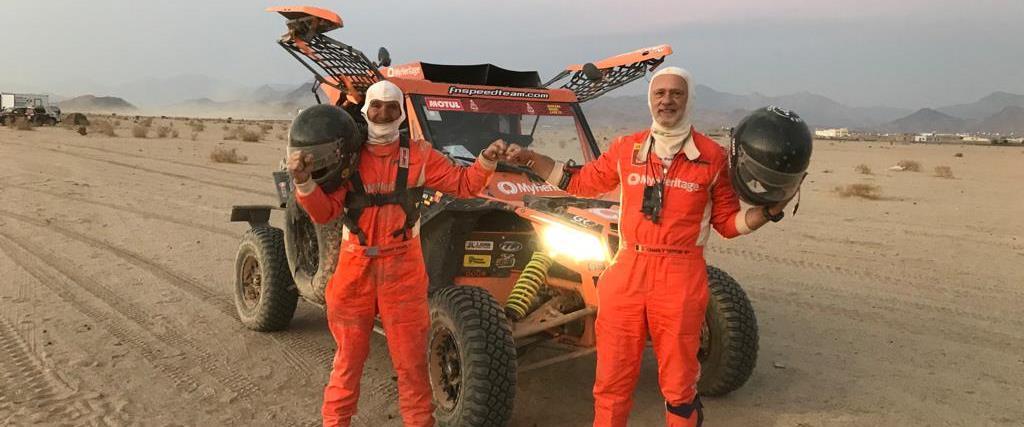 צוות ישראלי בראלי דקאר בסעודיה