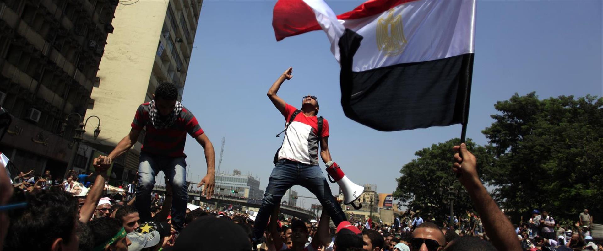 מחאה במצרים