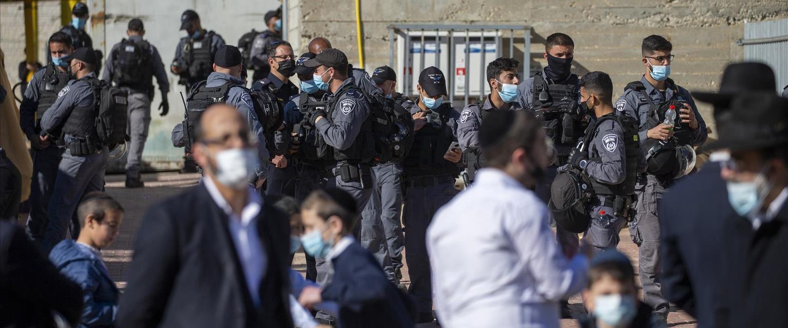 חרדים ושטרים היום באשדוד