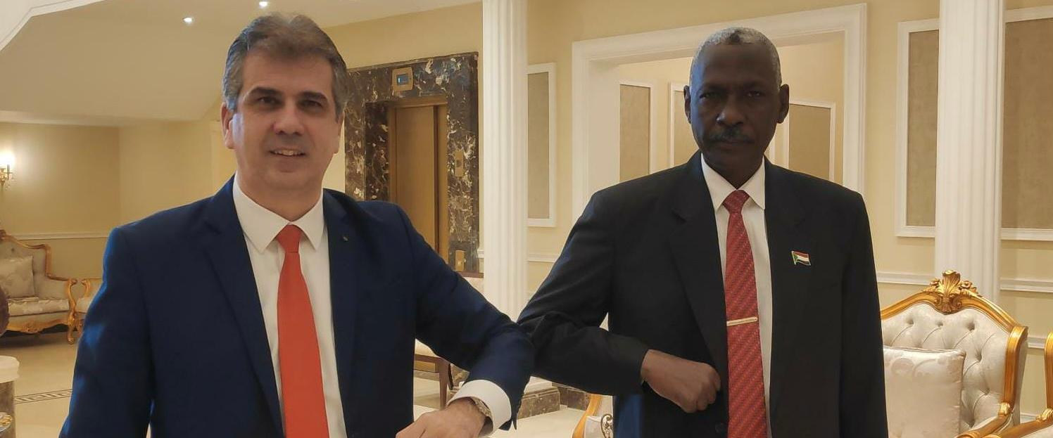 השר אלי כהן ונשיא סודאן