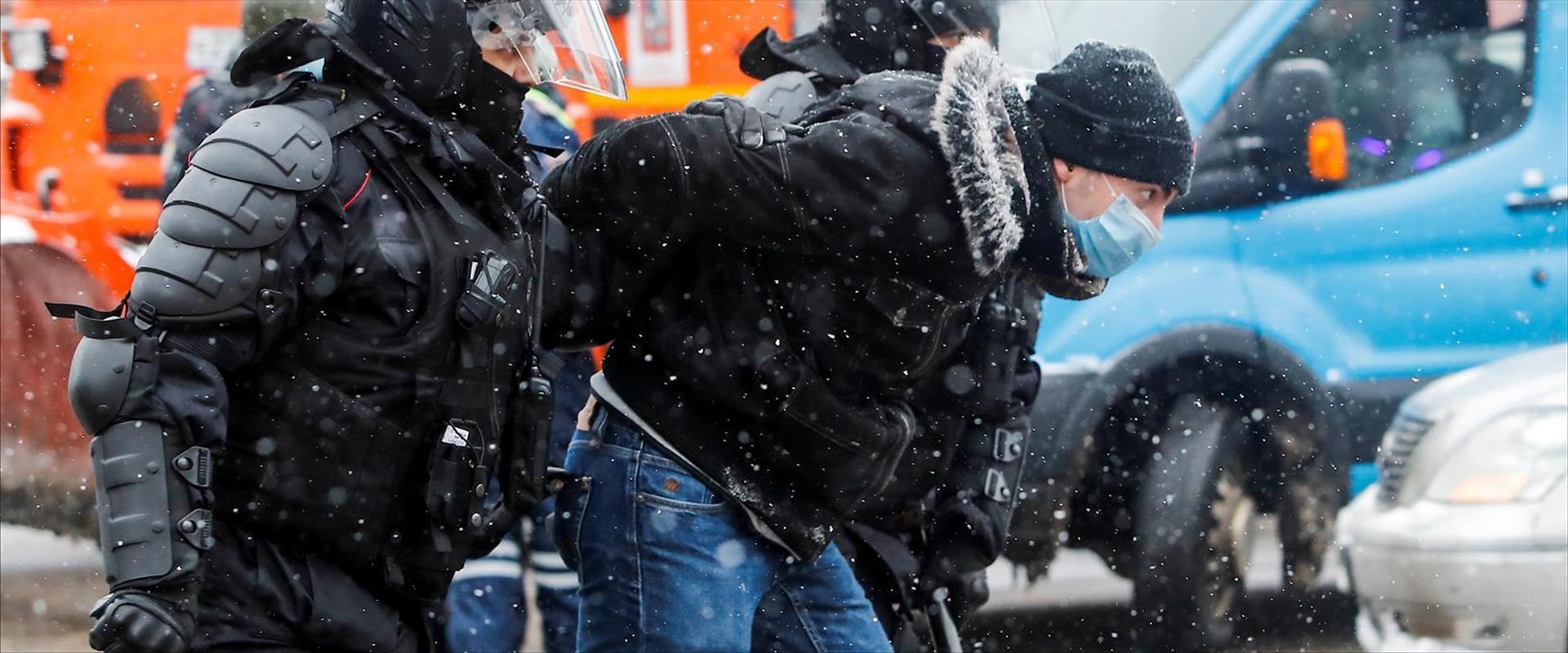 הפגנות התמיכה בנבלני במוסקווה