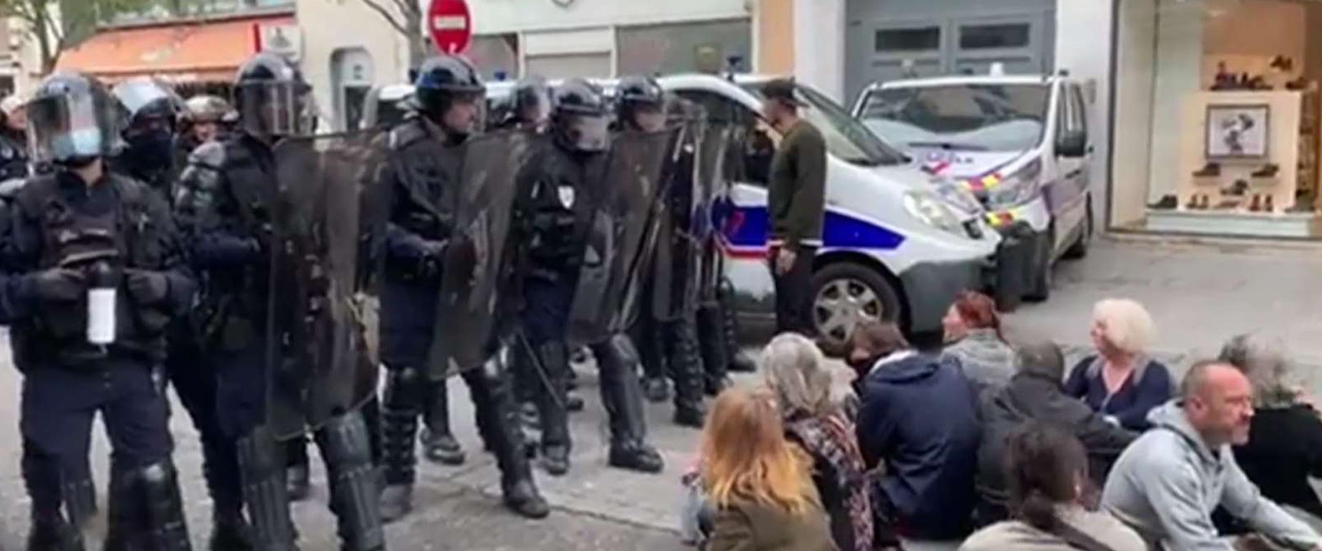 הפגנות באירופה