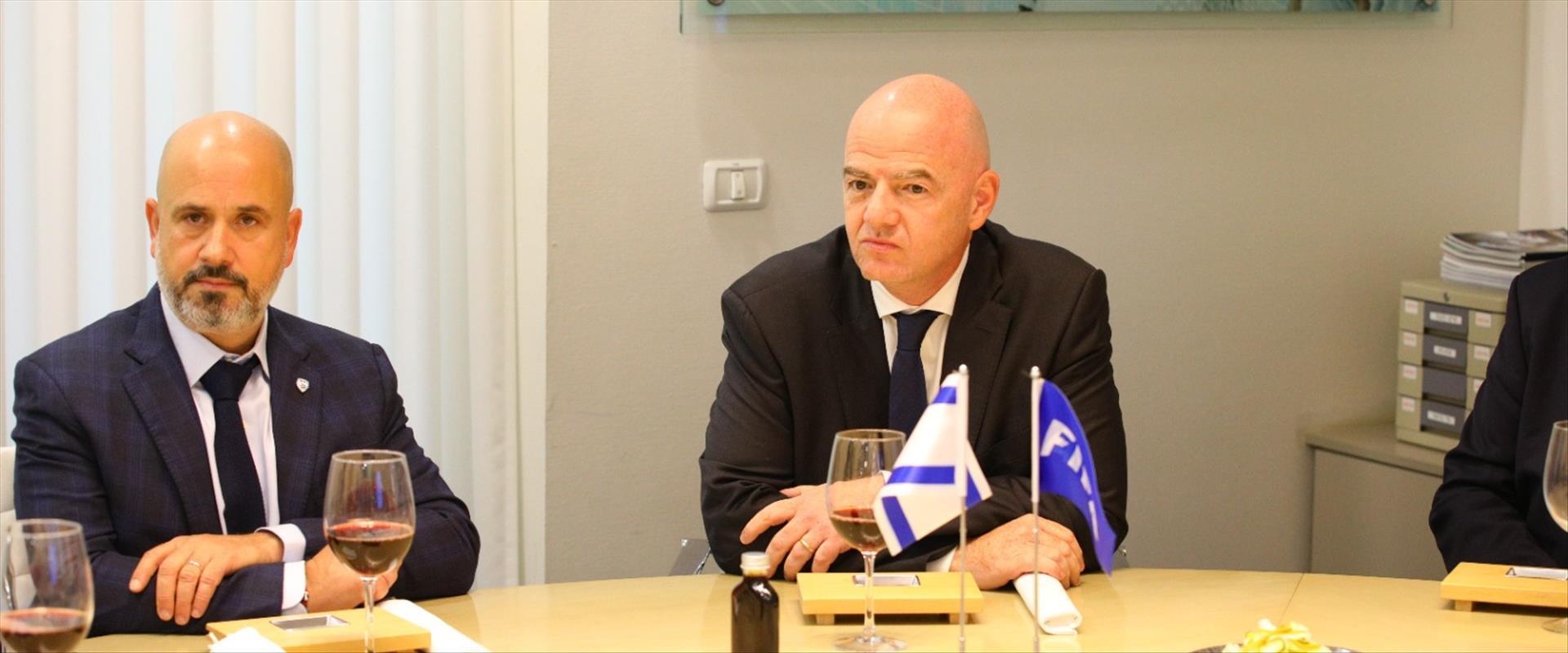 جياني انفانتينو في اسرائيل