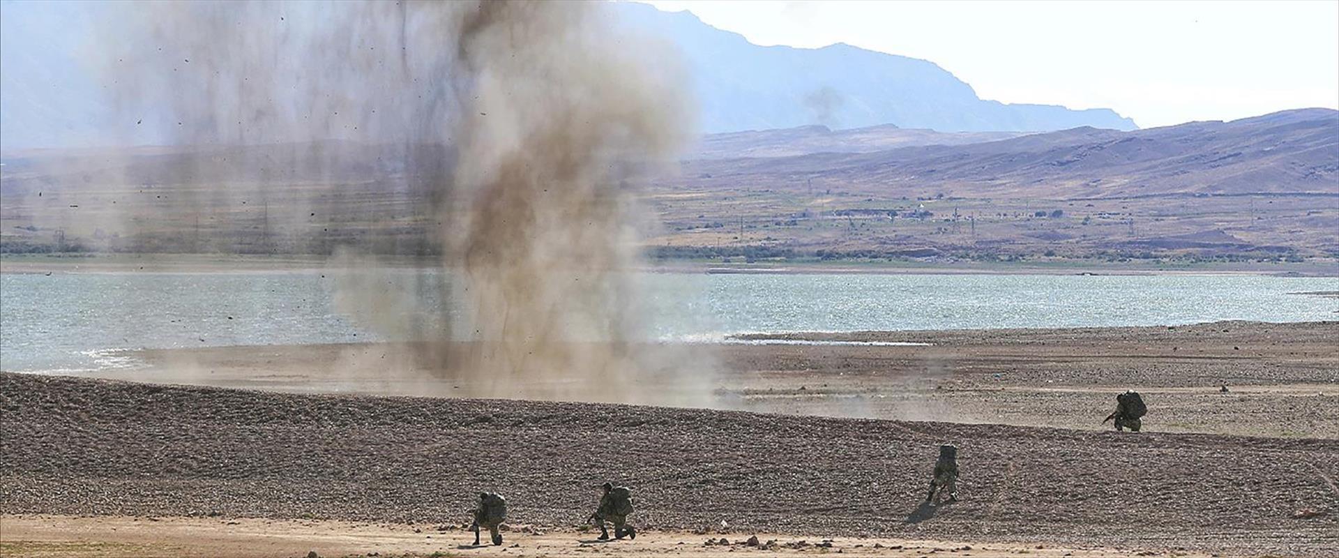 תרגיל צבאי איראני