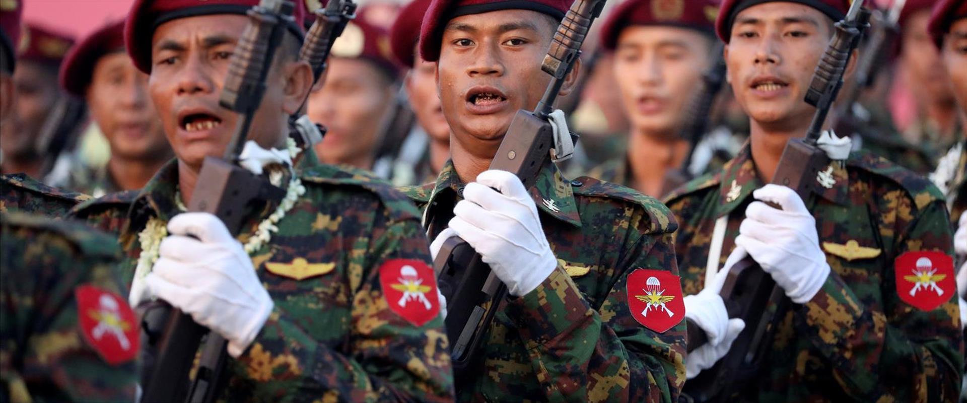 צבא מיאנמר, 2020