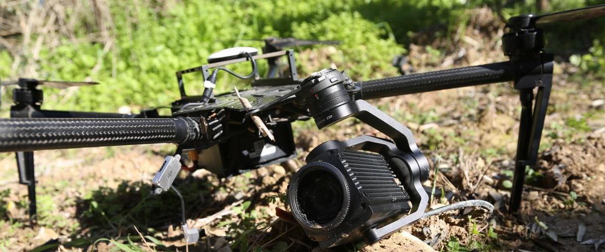 """תיעוד של הרחפן הצה""""לי שנפל בשטח לבנון, 23.08"""