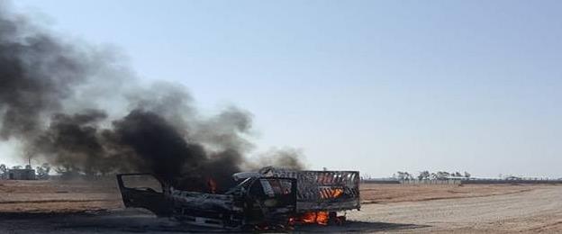 תקיפה בגבול סוריה-עיראק