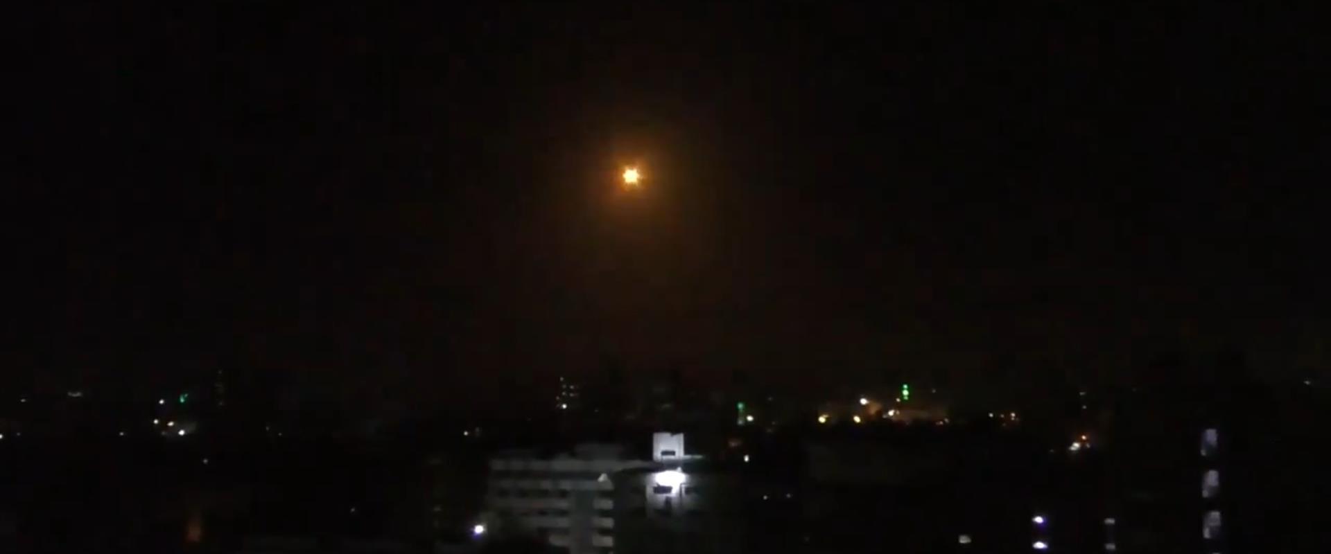 תיעוד התקיפה לפי הסוכנות הסורית