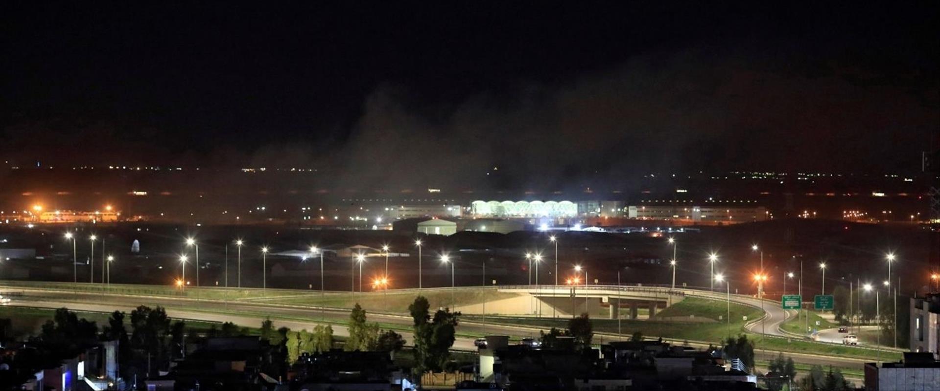 המתקפה על מטרות אמריקנות בבגדאד, 15.02.21